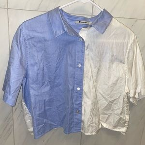T by Alexander Wang Button Up Top